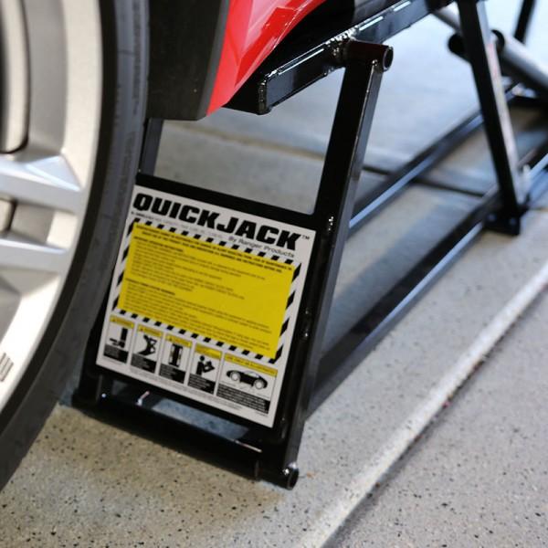 QuickJack Car Hoist for Garage