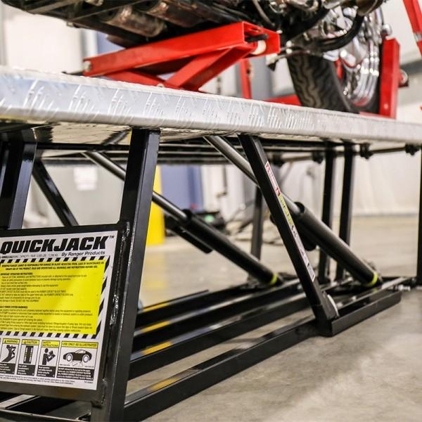 Aluminum Platform Motorcycle Lift