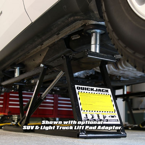 Truck adapter set for QuickJack Truck Hoist