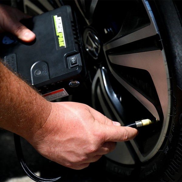 JackPak roadside tire inflator