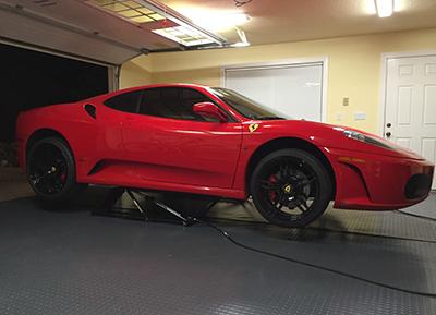 Ferrari F430 QuickJack Portable Car Lift