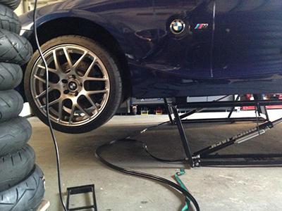 QuickJack Garage Lift with BMW ZR