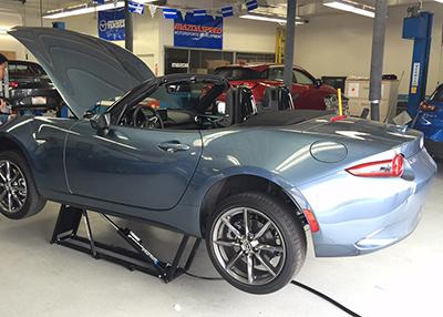 QuickJack Car Lift Mazda Speed
