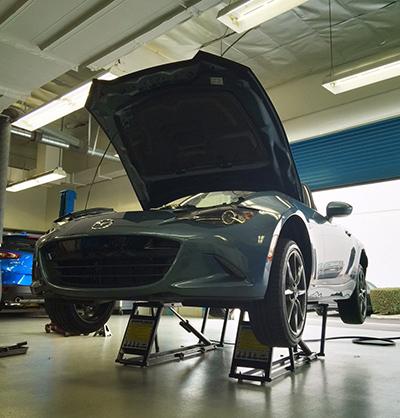 QuickJack Garage Lift SEMA Garage