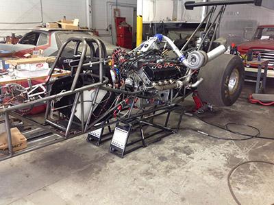 QuickJack Racecar Lift Track Dragster